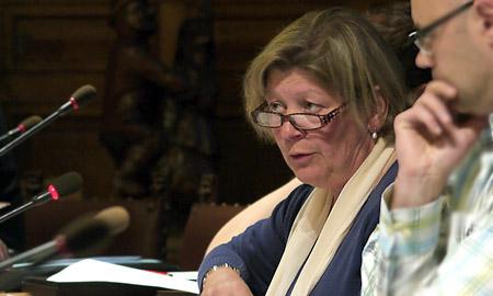 OCMW-voorzitter Ann Pycke (CD&V-NVA)