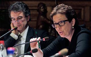 Schepen Vera Smets geeft toelichting bij budget 2012
