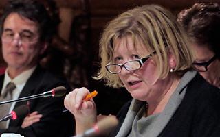 Ocmw-voorzitter Ann Pycke